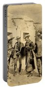 U. S. Cavalry Hunting Garza Men On The Rio Grande Portable Battery Charger