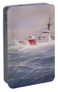U. S. Coast Guard Cutter Gallitin Portable Battery Charger by William H RaVell III