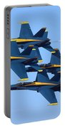 U S Navy Blue Angeles, Formation Flying Portable Battery Charger