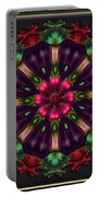 u028 Wholehearted Hibiscus Portable Battery Charger