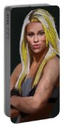 Ufc Fighter Paige Van Zant Portable Battery Charger