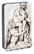 Ugolino And His Sons Portable Battery Charger