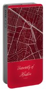 Uh Street Map - University Of Houston In Houston Map Portable Battery Charger