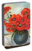 Ukrainian Poppies Portable Battery Charger
