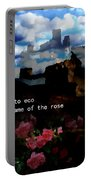Umberto  Eco Poster  Portable Battery Charger