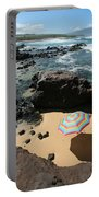 Umbrella On Beach Portable Battery Charger