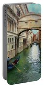 Under The Bridge Of Sighs Portable Battery Charger