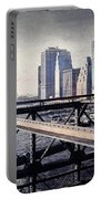 Under The Brooklyn Bridge Portable Battery Charger