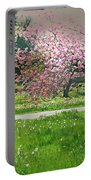 Under The Cherry Tree Portable Battery Charger
