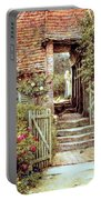 Under The Old Malthouse Hambledon Surrey Portable Battery Charger by Helen Allingham