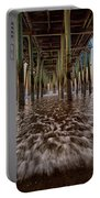 Under The Pier At Old Orchard Beach Portable Battery Charger