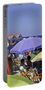 Under The Umbrellas  Portable Battery Charger