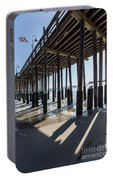 Under The Ventura Pier In Southern California Portable Battery Charger