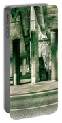 Under The Viaduct C Panoramic Urban View Portable Battery Charger
