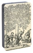 Under The Village Linden Tree Portable Battery Charger