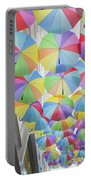 Under Umbrellas Portable Battery Charger