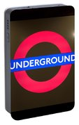 Underground Sign Portable Battery Charger
