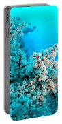 Underwater Cherry Blossom Portable Battery Charger