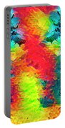 Underwater Rainbow Seahorses Portable Battery Charger