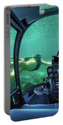 Underwater Submarine Woman Portable Battery Charger