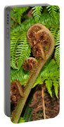 Unfolding Treefern Portable Battery Charger