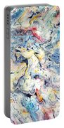 Unicorns And Rainbows  Portable Battery Charger