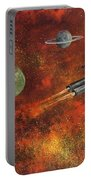 Unidentified Flying Object Portable Battery Charger
