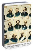 Union Commanders Of The Civil War Portable Battery Charger