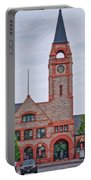 Union Pacific Railroad Depot Cheyenne Wyoming 01 Portable Battery Charger