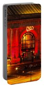 Union Station In Chiefs Red Portable Battery Charger
