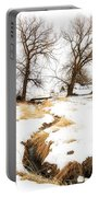Uniontown Snow Scene Portable Battery Charger