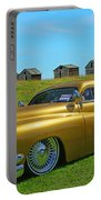 Unique Gold Street Rod Portable Battery Charger
