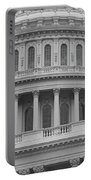 United States Capitol Building Bw Portable Battery Charger