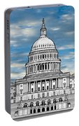 United States Capitol Building Portable Battery Charger