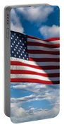 United States Of America Portable Battery Charger by Steve Gadomski
