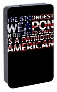 United States Patriotic American Portable Battery Charger