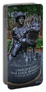 United States War Dog Memorial Portable Battery Charger
