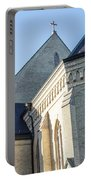 University Of Notre Dame Basilica  Portable Battery Charger