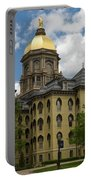 University Of Notre Dame Main Building 1879 Portable Battery Charger