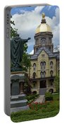 University Of Notre Dame Main Building Portable Battery Charger