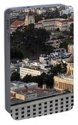 University Of San Francisco Aerial Photo Portable Battery Charger