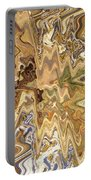 Unknown Paths Abstract Art Portable Battery Charger