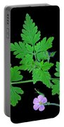 Unknown Wildflower Portable Battery Charger