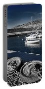 Unplugged At The Harbour - Toned Portable Battery Charger