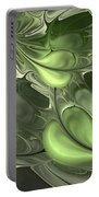 Untitled 1-26-10 Pale Green Portable Battery Charger