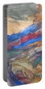 Untitled 107 Original Painting Portable Battery Charger
