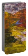Untitled 113 Original Painting Portable Battery Charger