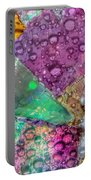 Untitled Abstract Prism Plates V Portable Battery Charger