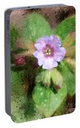 Untitled Floral -1 Portable Battery Charger