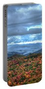 Up In The Clouds Blue Ridge Parkway Mountain Art Portable Battery Charger